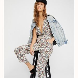"""Free People """"Ruffle Your Feathers"""" Jumpsuit"""